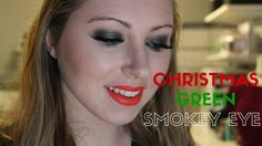 Tutorial | Smokey Green Christmas Makeup  Easy festive makeup look for Christmas parties, dinner or nights out, even New Years Eve!