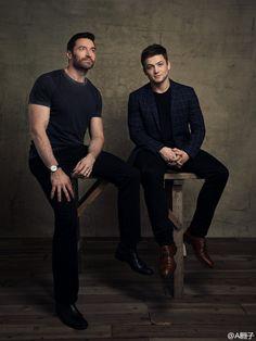 Taron Egerton and Hugh Jackman - Photographs by John Russo - February 2016