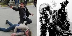 The Walking Dead AMC Show Robert Kirman Comic Book The Walking Dead: Comics vs. TV Character Guide