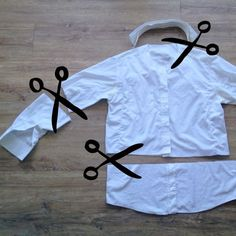 Up-cycling daddy's old shirt in to a doctor's coat for dressing up – The Bear & The Fox Dress Up Outfits, Dress Up Costumes, Diy Dress, Kid Costumes, Children Costumes, Tomboy Outfits, Costume Ideas, Doctor Coat, Diy Doctor