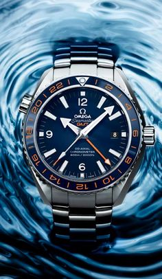 Omega Seamaster Planet ocean Gmt Steel