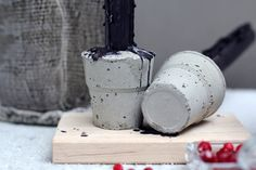 RAW Design blog / Concrete candle holders