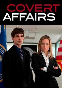 """Covert Affairs"" TV Show on USA Network (2010 - Present)"