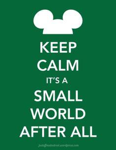 Keep Calm and watch Disney :)