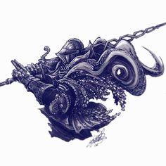 Inktober Day 25. Sir Vilhelm #inktober #inktober2016 #darksouls #darksouls3 #vilhelm #knight #bloodborne #tattoos #tattoo #ink #markers