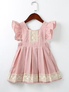 light dusty pink with ivory lace dress, toddler dress, birthday dress – Patrones ropa bebe – etoddler Dresses Kids Girl, Kids Outfits, Dresses For Toddlers, Dress Girl, Easter Dresses For Girls, Outfits 2016, Toddler Outfits, School Outfits, Pink Ruffle Dress