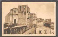 La Cattedrale di Agrigento in bianco e nero.Fotogalleria