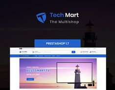 TechMart - The MultiShop Template Image In Html, Website Themes, Free Training, Places To Visit, Web Design, Templates, Projects To Try, Free Courses, Yuu