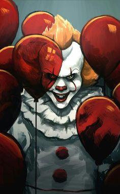 shigeru onda et audrey saint-yves sont des crapauds Dark Drawings, Amazing Drawings, Clown Horror Movie, Adashino Benio, Bill Skarsgard Pennywise, Clown Paintings, Pennywise The Dancing Clown, Classic Horror Movies, Horror Art