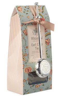 Whittard Thé Earl Grey 125g + Cuillère Inoxydable
