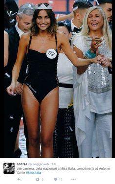 """""""E la vincitrice di Miss Italia 2016 è... Antonio Conte"""". È solo uno dei tanti messaggi ironici che gli utenti di Twitter hanno postato sul social network per sottolineare la somiglianza tra il sorriso di Rachele Risaliti, vincitrice del concorso di bellezza, e l'ex ct della nazionale italiana Anton…"""