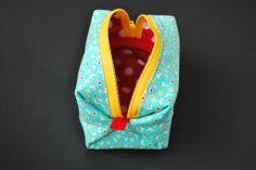 DIY: pouf zippy pouch