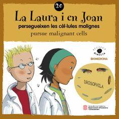 JOSEP Mª LÓPEZ. La Laura i en Joan persegueixen les cèl·lules malignes. Barcelona : Generalitat de Catalunya. Departament d'Economia i Coneixement, 2013. I**