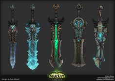 Legion Artifact Weapons — polycount
