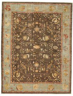 Oushak rug 10′8″x13′11″