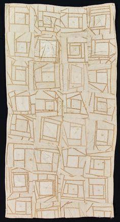 Vintage Maine quilt 1900-1920s IQSCM ~~ was she high?