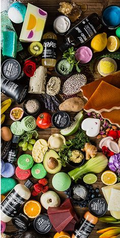 LUSH - This Spring & Summer Season is all about keeping it fresh & there is no better way than using these organic products from Lush!
