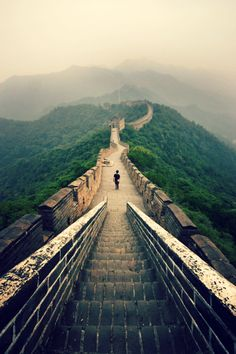 L'une des 7 merveilles du monde : la grande muraille de Chine