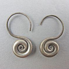 Vintage Chinese Earrings Miao Ethnic Jewellery
