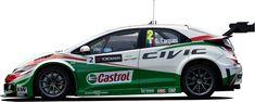 Honda Civic WTCC 側面