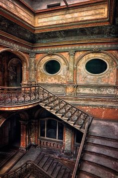 Abandoned. Older buildings are incredibly beautiful