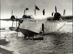 A Short C Class Flying boat of Imperial Airways