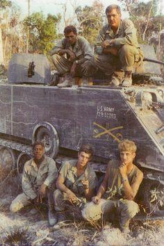M-113 ACAV crew, 1971