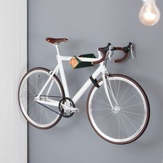 The D RACK A Designer Bike Rack Of The German Start Up Is The Ideal Choice  For An Elegant And Functional Storage System For Your Bicycle At Home. By  ...