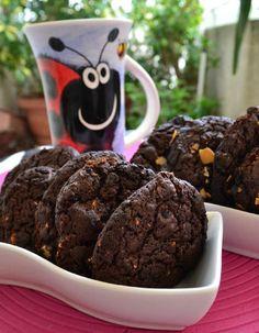 Cookies Με Χαρουπάλευρο - Sweetly