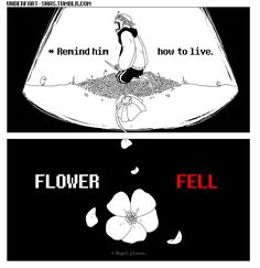 flowerfell sans part 6 [end]| Tumblr