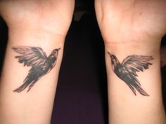 My blackbird tattoos
