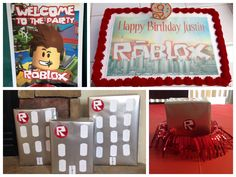 Roblox Birthday party decorations