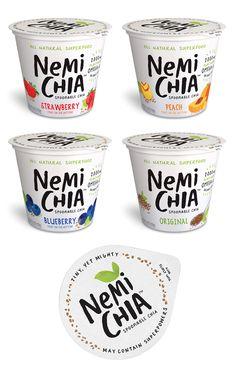 Vegan spoonable chia with fruit on the bottom NemiChia via @thedieline