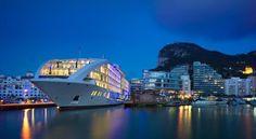 #getmarriedabroad Superyacht Wedding in Gibraltar 5* Ultra Luxurious #yachtwedding #marriedabroad #unusualwedding http://weddingsabroad.com/location/europe/gibraltar/sunborn-yacht/