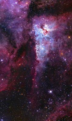 Carina Nebula.  Credit: Jonah Scott