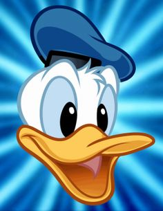 how to draw donald duck easy