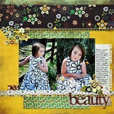 #BasicGrey : Beauty by: Kelly #origins #scrapbook