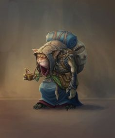 Hobgob by baklaher on DeviantArt Fantasy Heroes, Fantasy Races, Fantasy Rpg, Fantasy Artwork, Dark Fantasy, Fantasy Character Design, Character Concept, Character Art, Dnd Characters