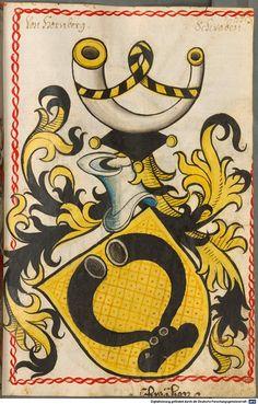 Scheibler'sches Wappenbuch Süddeutschland, um 1450 - 17. Jh. Cod.icon. 312 c  Folio 253