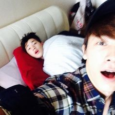 Henry and Donghae - Super Junior