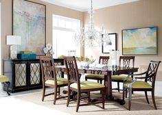 Watercolor Dining Room | Ethan Allen