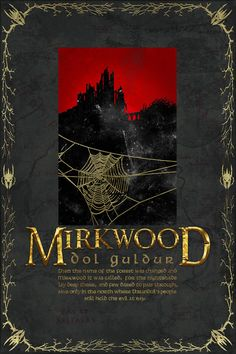 Mirkwood Travel Poster from The Lord Of the Rings and by PasspArt, $20.00