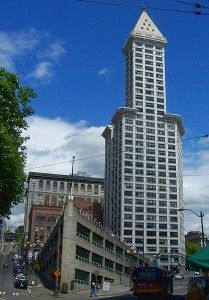 A few months after coming under the ownership of CBRE Capital Partners, the historic Smith Tower in Downtown Seattle is taking the first small steps toward rebounding from years of decline.