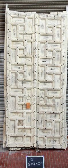 Doors and Gates from Shikara Design. From immense Indian hand carved door frames and Bali gates to smaller access single doors we have a huge selection of doors and doorways at our disposal Indian Doors, Vintage Doors, Boho Inspiration, Single Doors, Doorway, Windows And Doors, Hand Carved, Gate, Rustic