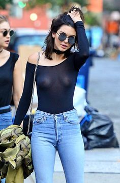 Kendall Jenner went super risque while strolling the streets of NYC! See the other pics!