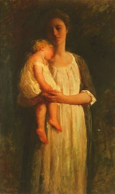 mary richardson: sleeping child