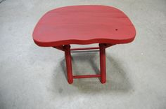Vintage Nevco Fold n Carry Stool by CountryChicSisters on Etsy Country Chic, Little Red, Carry On, Baby Dolls, Stool, Sisters, Boutique, Etsy, Vintage