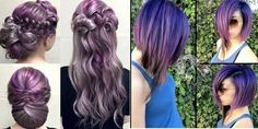 Endless Madhouse!: Hair Color: Amazing Shades of Purple!!!