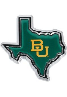 #Baylor Texas Car Emblem (available at Baylor Bookstore) #SicEm