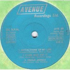 "7"" 33RPM Avenue Recordings EP from Avenue Recordings Ltd (AVE 89)"